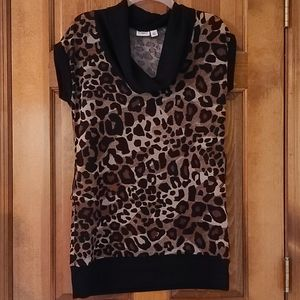 Cato cute leopard sweater